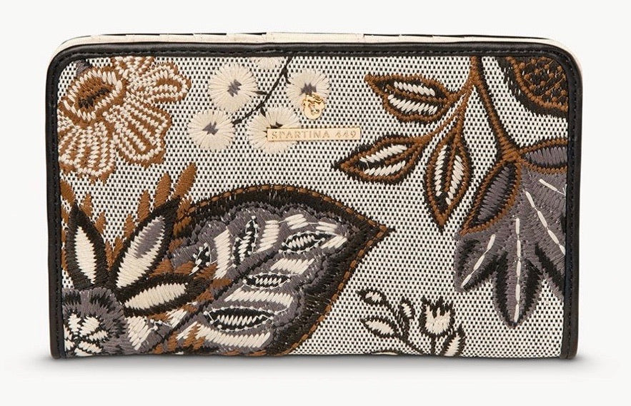 Spartina ~ Snap Wallet West Bluff Floral