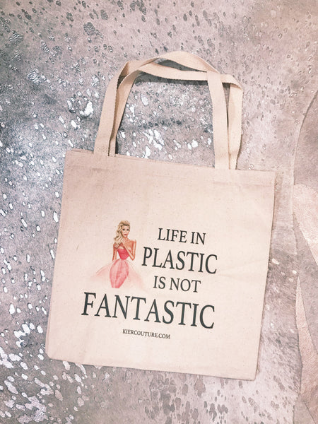 Life in Plastic Tote bag
