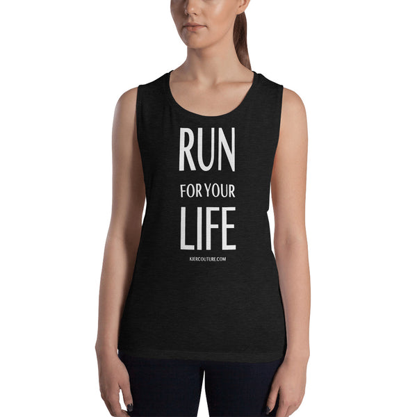 RUN LIFE Ladies' Muscle Tank
