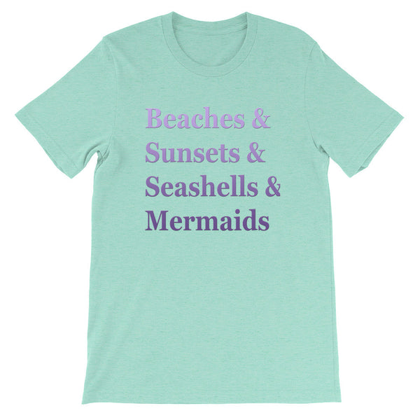 Beaches & White short sleeve t-shirt