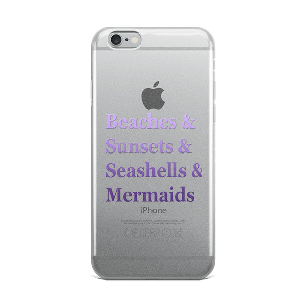 Beach Babe iPhone Case