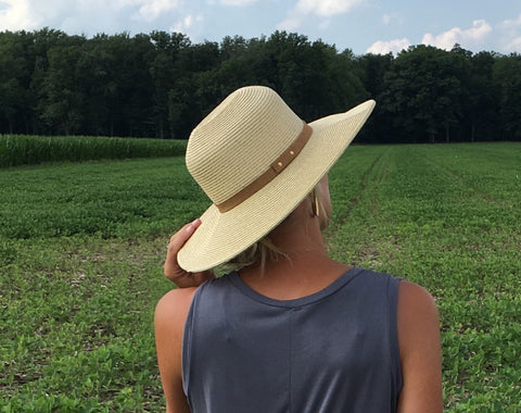 Wide Brim Summer Hat