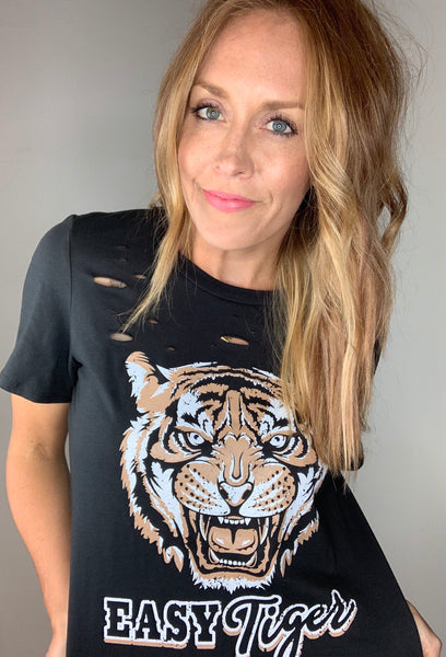 """Easy Tiger"" Graphic Tee"