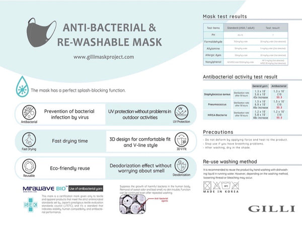 Youth Safety Mask - Antibacterial