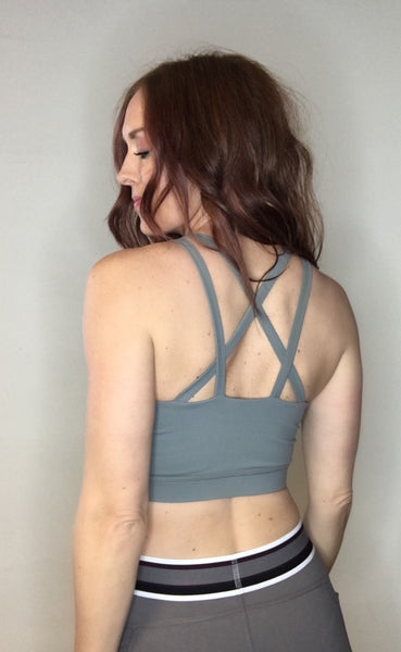 Cut-out Sport Bra/Top