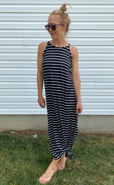 Essential Striped Maxi Dress