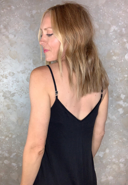 Cropped Cami Jumpsuit