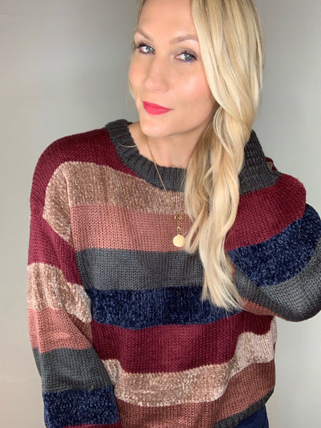 Cozy Knit Pullover Sweater