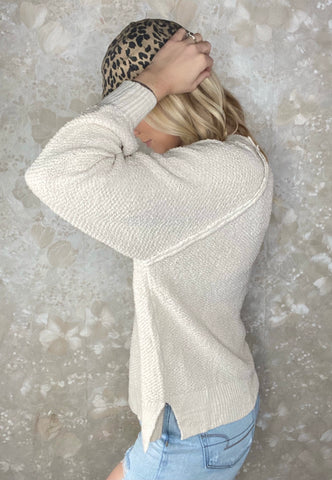 Textured Lightweight Sweater