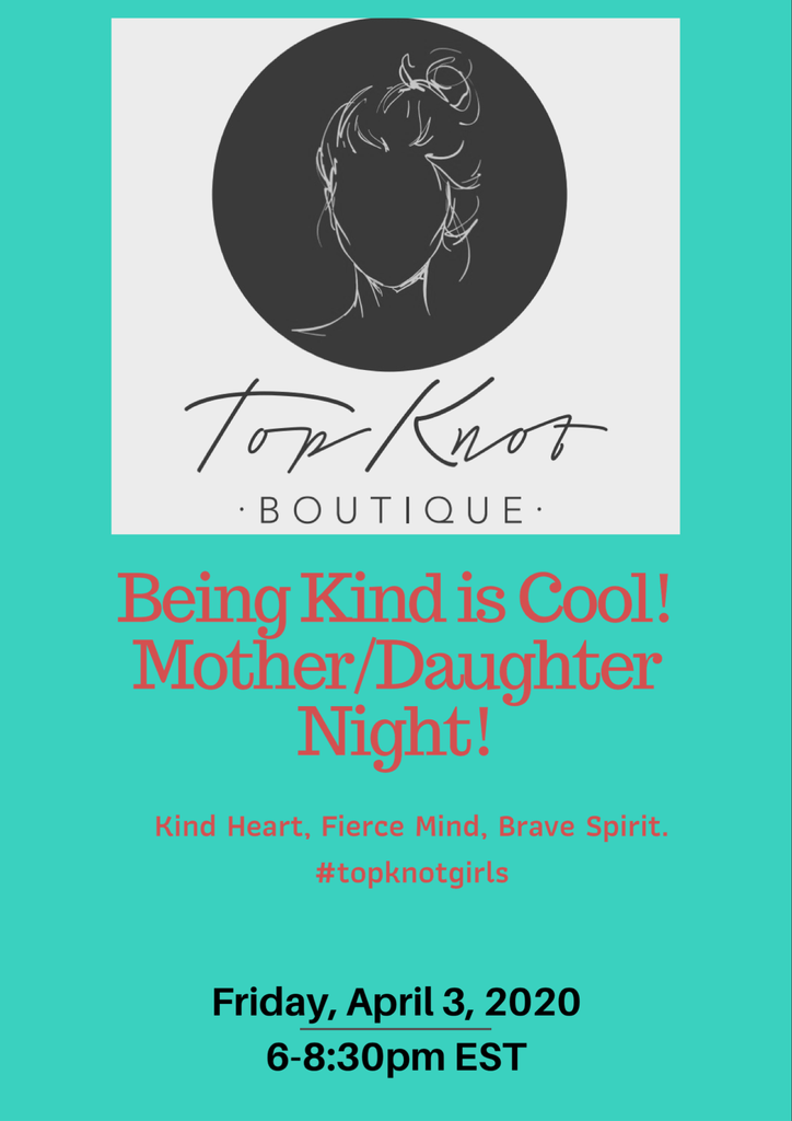 Being Kind is Cool Event - Daughter Registration