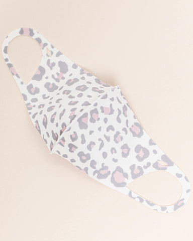 Adult Safety Mask - Leopard Print