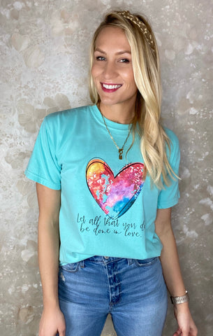 """Do In Love"" Graphic Tee"