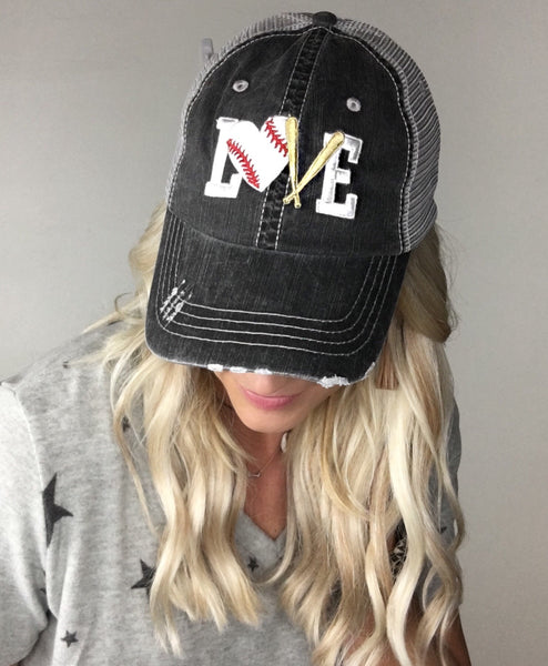 """LOVE"" Baseball Hat"