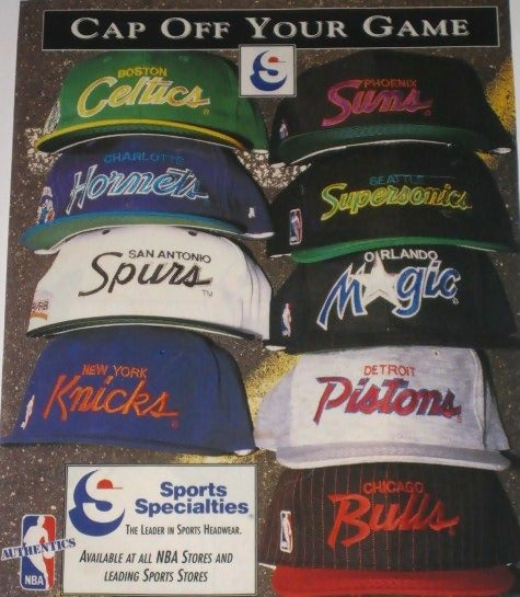 Sports Specialties: Vintage Hats and Snapbacks