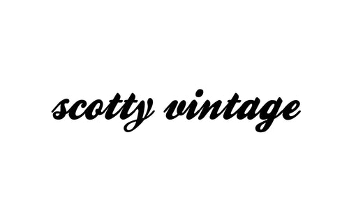 scotty vintage logo