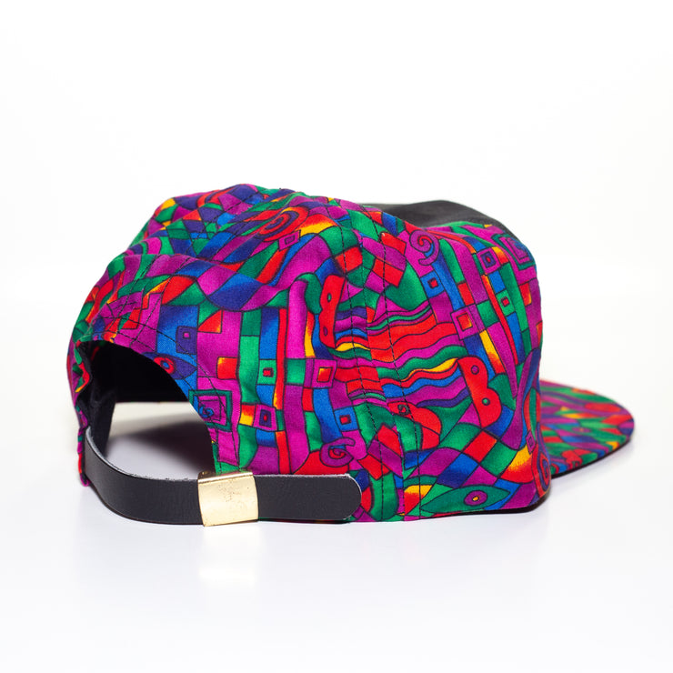 colorful vintage hat