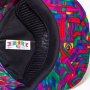 crazy colors vintage hat