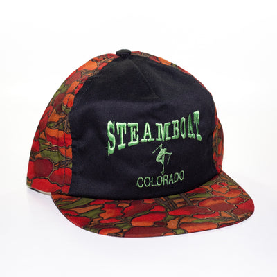 steamboat ski hat vintage