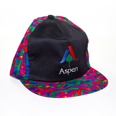 purple aspen ski hat