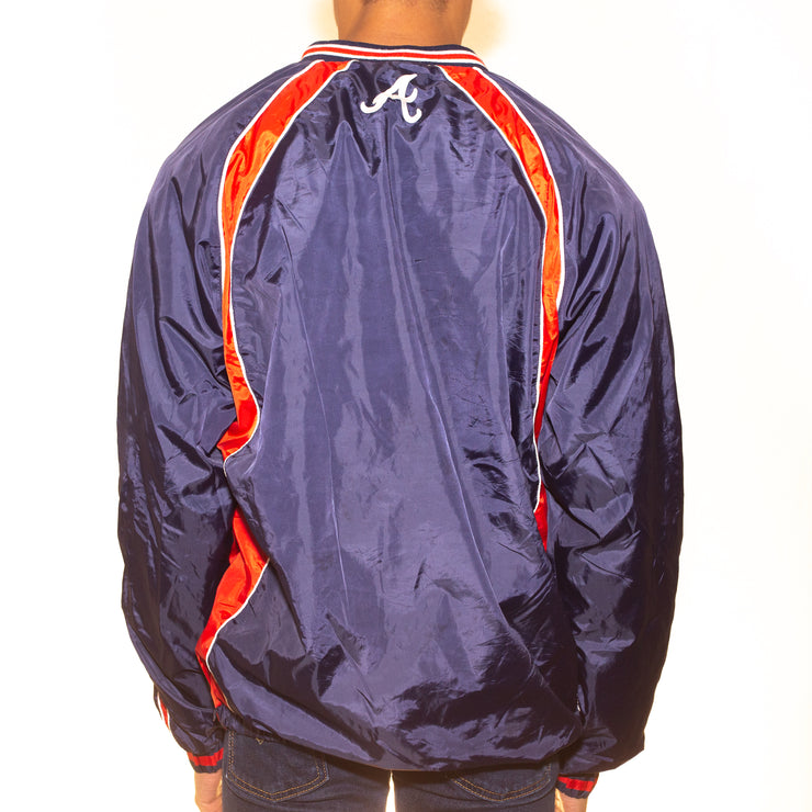 Vintage Atlanta Braves Satin Jacket - M