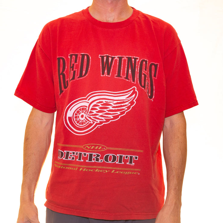 Vintage Detroit Red Wings T-Shirt - XL