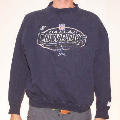 Vintage Dallas Cowboys Logo Athletic Sweatshirt - L