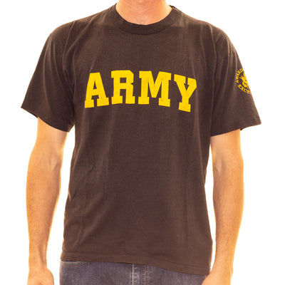 Vintage First Jump Army T-Shirt - L