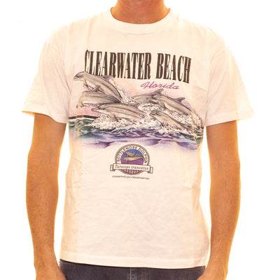 Vintage Clearwater Beach T-Shirt - M/L