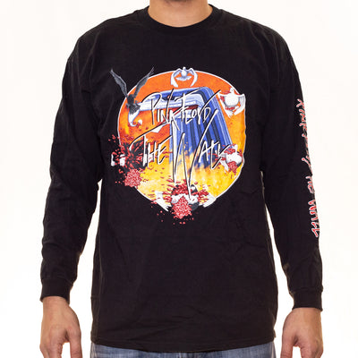 "Vintage Pink Floyd ""The Wall"" Long Sleeve T-Shirt - XL"
