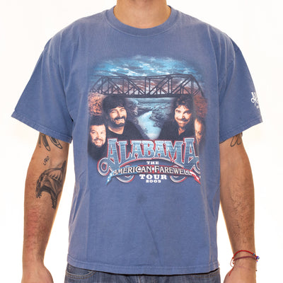 Vintage Alabama Tour T-Shirt - XL