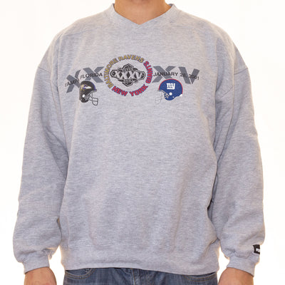 Vintage Super Bowl XXXV Sweatshirt - XL