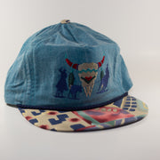 vintage denim hat