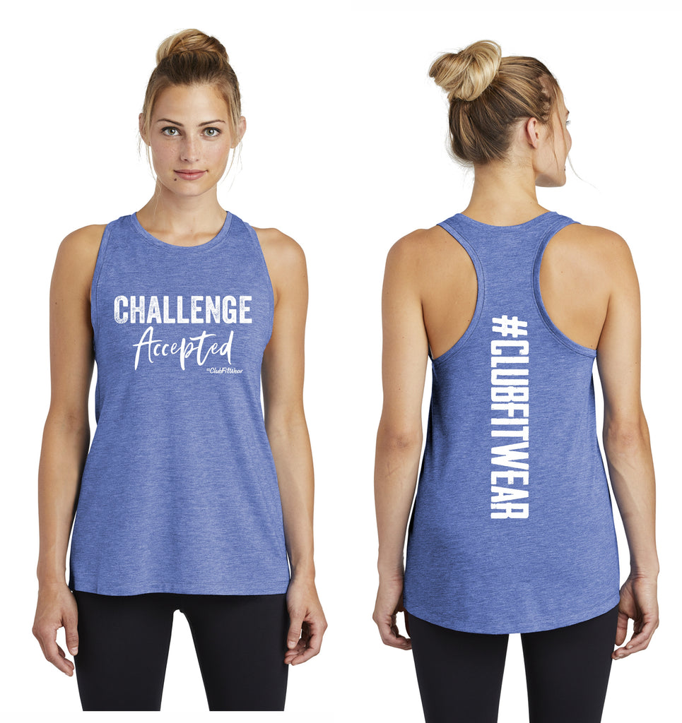 Challenge Accepted Racerback Muscle Tank