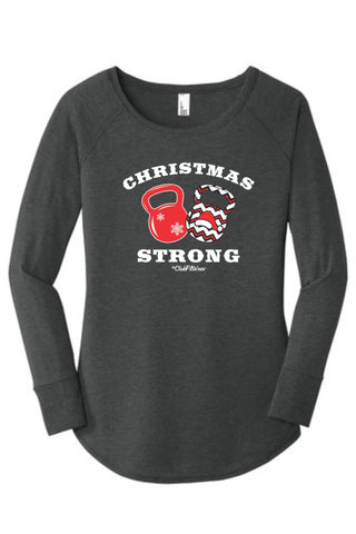 Christmas Strong - Long Sleeve Tunic