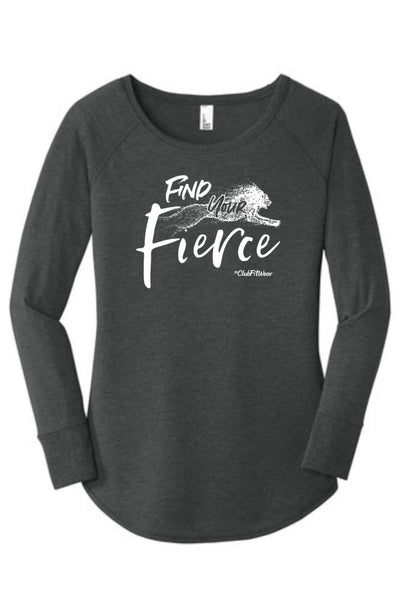 Find your Fierce - Long Sleeve Tunic