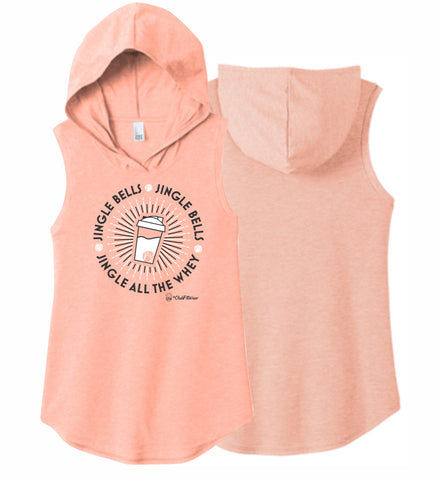 Jingle all the Whey - Sleeveless Hoodie