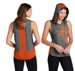 Fighter - MS Awareness Hooded Muscle