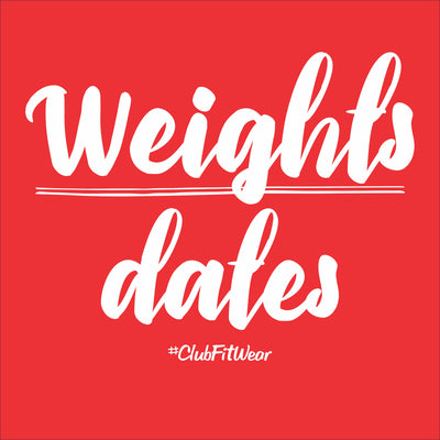 Weights Over Dates