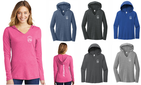 CFW Logoed - Women's Hooded Pullover