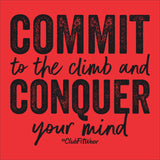 Commit to the Climb and Conquer your Mind