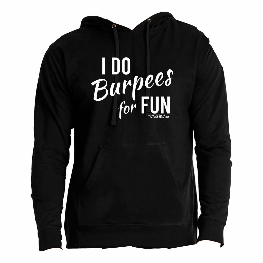 I do burpees for fun
