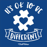 Premium New Era - It's Ok to be Different - Autism Awareness