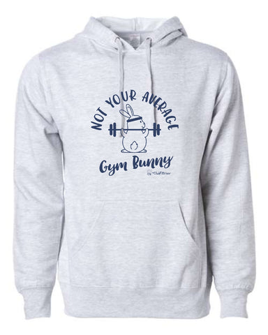 Not your average Gym Bunny - Hoodie