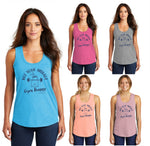 Not your average Gym Bunny - Premium TriBlend Racerback Tank