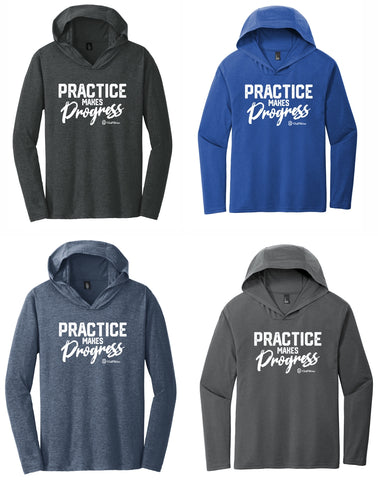 Practice Makes Progress - Unisex Hooded Pullover