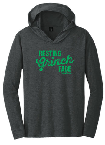 Resting Grinch Face - Hooded Pullover