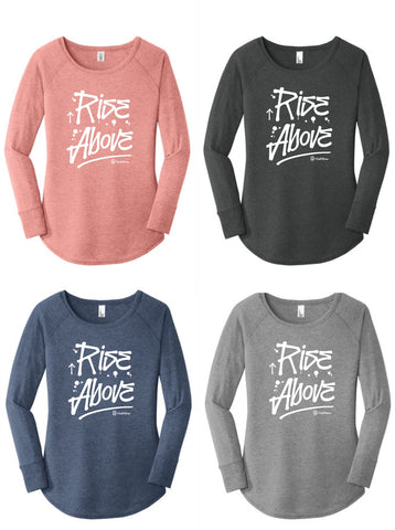 Rise Above (Control Freak Inspired) - Long Sleeve Tunic