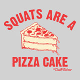 Squats are a pizza cake compact