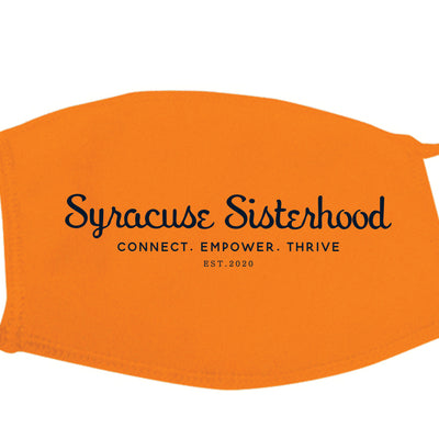 Syracuse Sisterhood - Face Mask (Limited Edition Orange)