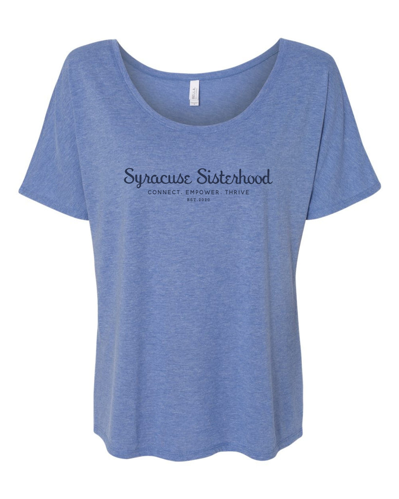 Syracuse Sisterhood - Slouchy Women's Tee